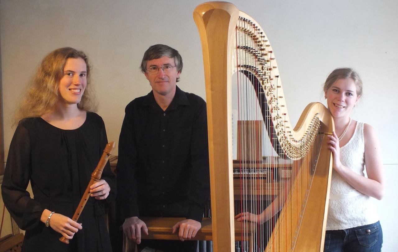 Trio Flute (ou violoncelle) orgue et harpe